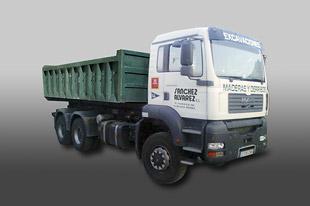 Camión MAN contenedor
